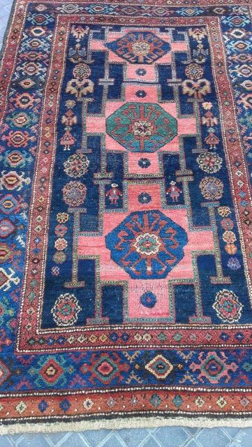 Kurdish rug size :195x135-cm ask
