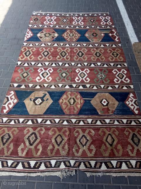 Caucasian kilim antiqe size:300x165-cm please ask