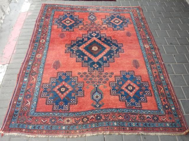 Persian avshar size:195x158-cm ask
