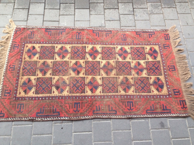 Antiqe Baluch camel size:150x84-cm please ask