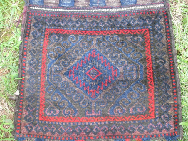 Nice old mashwani khorjin(saddlebag)all complete piece good colors