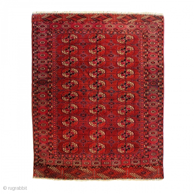 Turkmen Tekke, cm 182x136. Good condition. early XX cent.