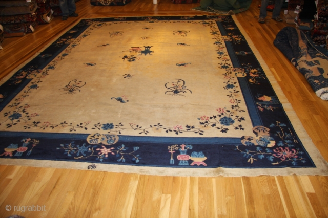 chinese art deco signed 10x14 www.exoticrug.org call or text 630-373-5190 30 day guarantee, free shipping, if not satissfied full refund less actual shipping costs.