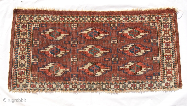 19th century yomut torba.size 1.8x3.3 ft