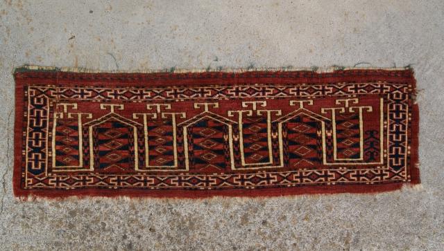 19 century Kizil Ayak Torba Nice Design.