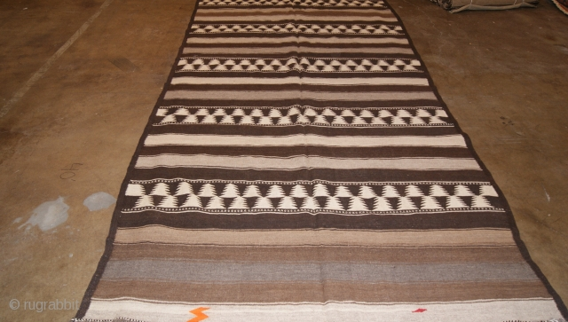 Hazara Kilim From Central Afghanistan All Natural Dyes Size 175x412 from the 1930s.