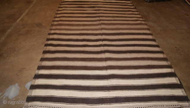 Hazara Kilim From central Afghanistan All Natural Dyes From the 1930s Size 190x377.