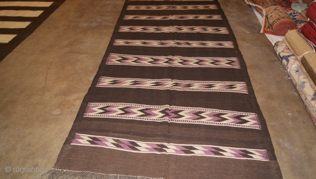 Hazara Kilim From Central Afghanistan size 162x370 from 1930s.