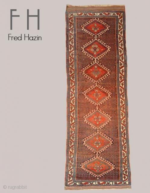 Stock# A108 | Afshar | Circa: 1920\'s | Size: 3 x 11.2 feet