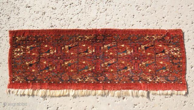 Eight Gul Tekke Torba 19th century good colors.