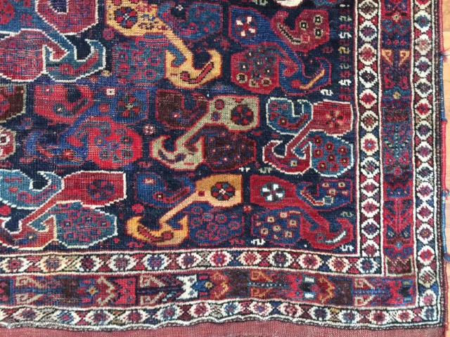 Antique SW Persian Khamshe size 4X6.