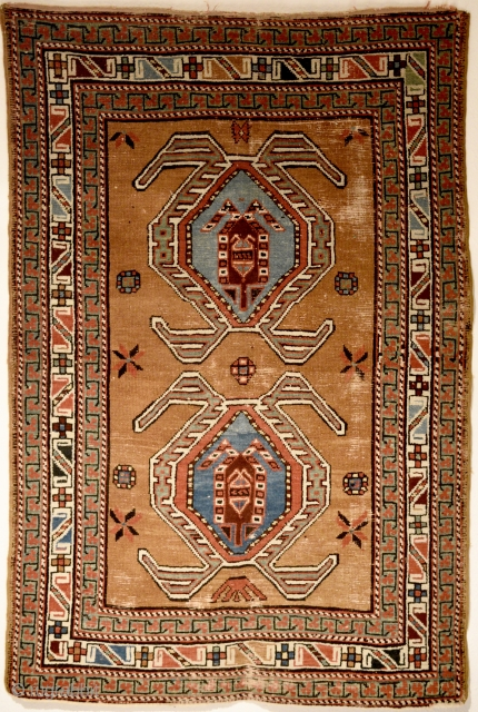 Northwest Persian possibly Lambaran village south of Azerbaijan/Iranian border. 147cm x 98cm