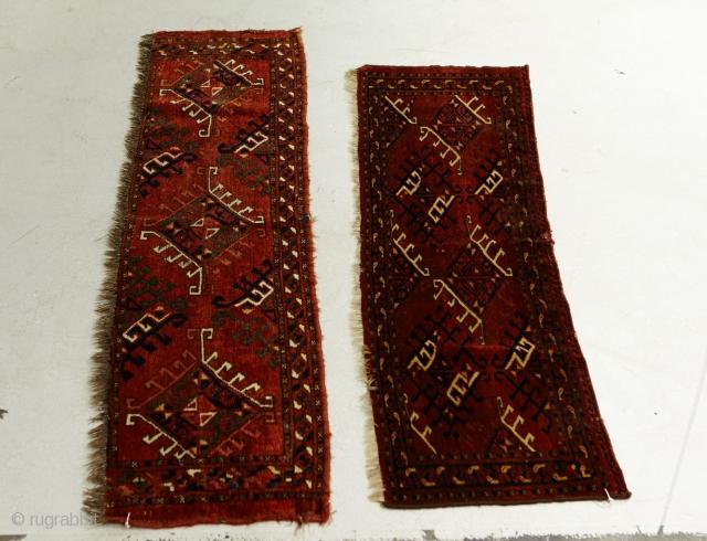 Ersari torba 2 pieces. 39x127 and 38x146 cm