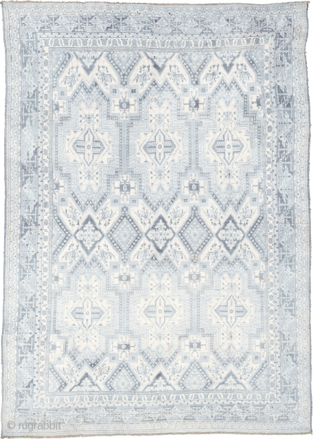 """Antique Indian Cotton Agra Rug Northwest India ca.1920 11'4"""" x 8'1"""" (346 x 247 cm) FJ Hakimian Reference #09094"""