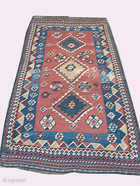 Good Qashqai Kilim, 150 x 277 Cm. Ebay :http://cgi.ebay.com/ws/eBayISAPI.dll?ViewItem&item=330561779647