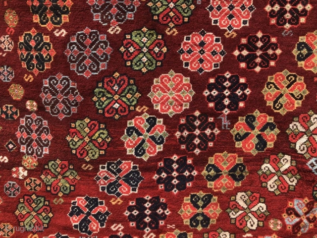 Southwest Persian tribal with a red ground.