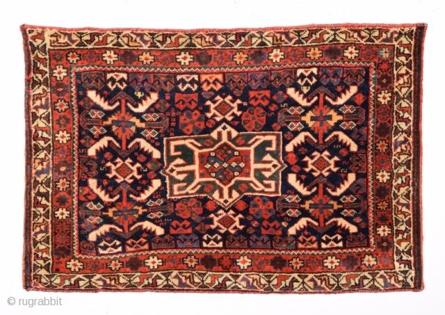 Very Fine Khamseh Bag 1870's size 48x72 cm