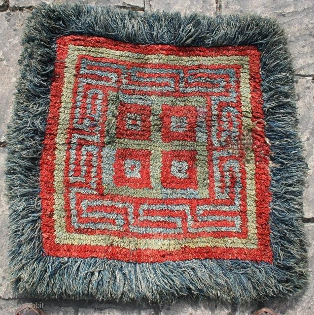 """Tibetan wangden seating mat.33"""" by 34"""""""