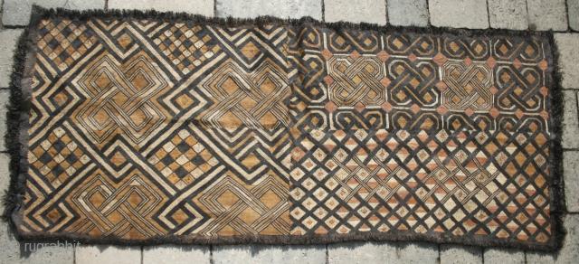 Shoowa raffia weaving 125cm by 52cm