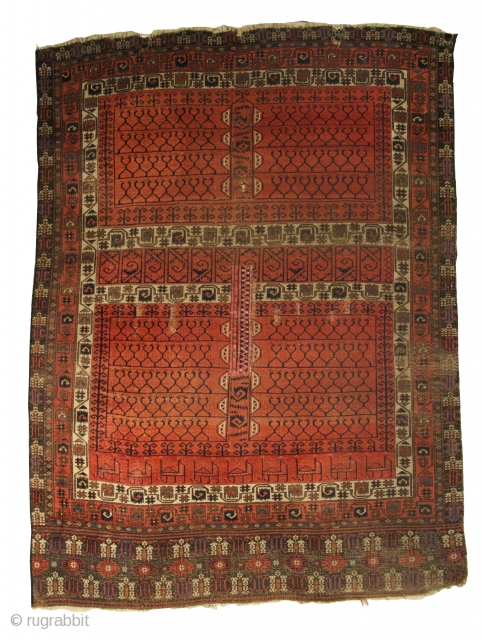 Rare Salor Ensi, Turkestan, c. 1800, 5 feet 10 inches x 4 feet 4 inches (lot 805); Recently discovered in a New York home, this rug is one of only ten know  ...