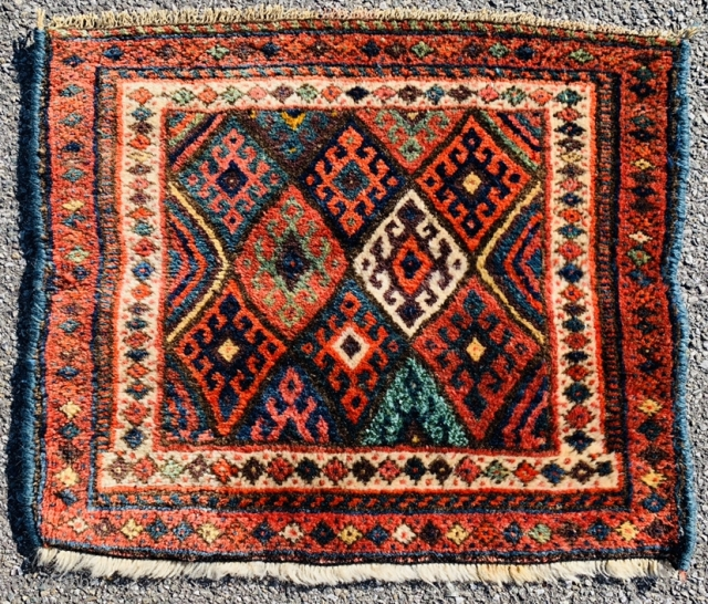 kurdish Jaf bagface 1890 size60x50cm