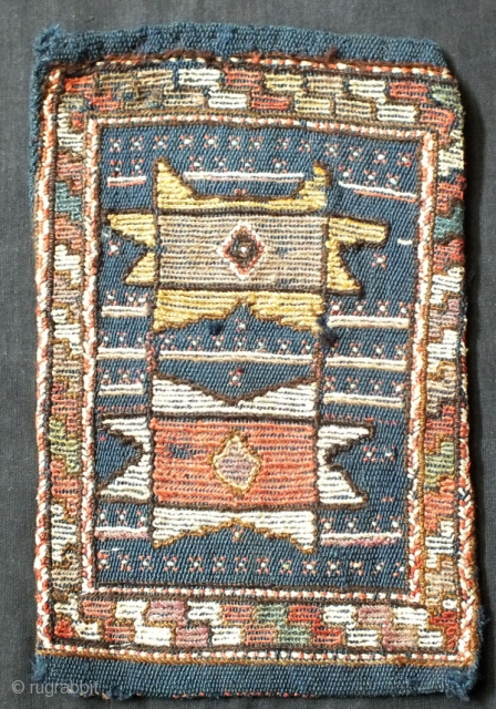 Kord of khorasan province,may be quchan,in perfect condition but needs a bath,Size:33x21 cm