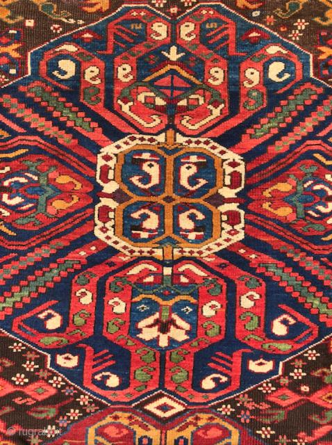 Caucasian Zeichur Runner circa 1870 size 105x266 cm