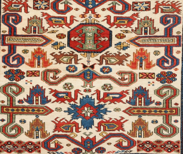 Late 19th Century Perepedil Rug size 145x180 cm