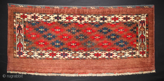 ca.1900 wonderful Yomut mafrash,,nice Natural colours,,size:37x80 cm  1.3x2.8 ft