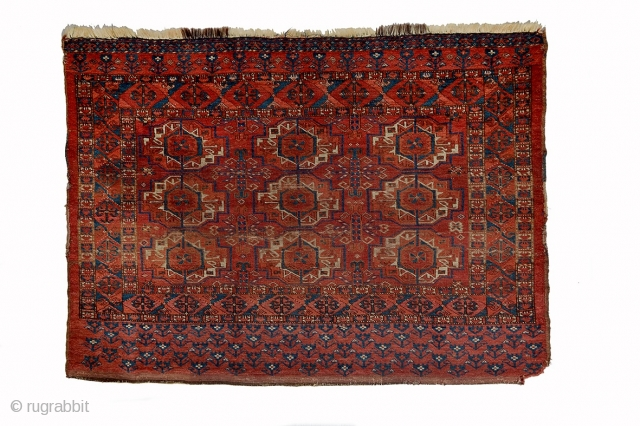 Ersari tekke gul chuval,1850 circa.,size 138x99cm