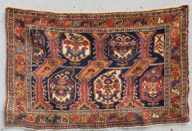 afshar bagface cica 1870-size 81x54cm.
