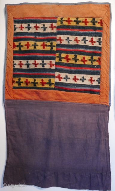 "Tibetan 'trade cloth',  early 20th cent,  19""x33""/48 x 84 centimeters"