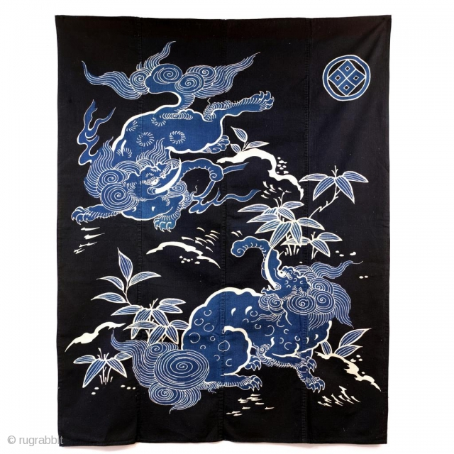 Japanese Tsutsugaki Futon Cover - Baku