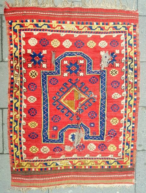Size : 88 x 110 (cm), West anatolia (dazkiri).