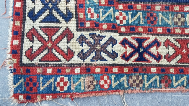 Size : 110 x 165 (cm), Kazakh
