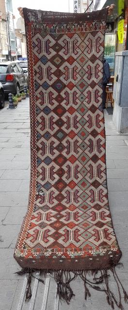 Size : 82 x 284 (cm), West anatolia (mut),