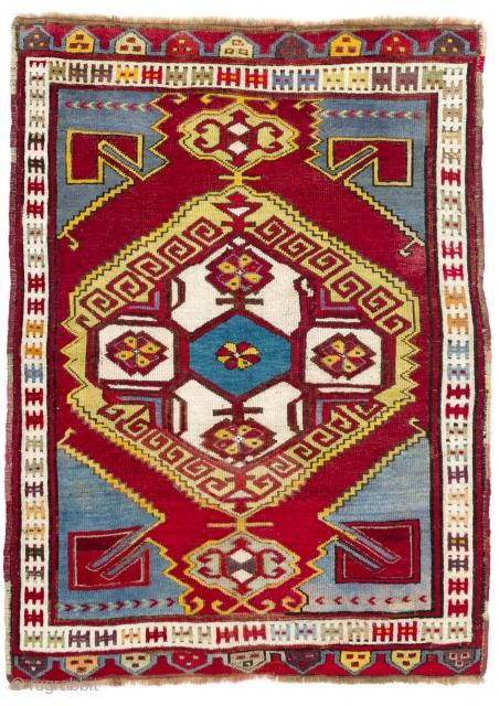 Karapinar Rug, Central Anatolia, 126x174 cm