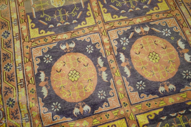 Whimsical Antique Khotan 5'8'' x 11'2''  https://jdorientalrugs.com/whimsical-khotan-gallery-rug/id/j1864