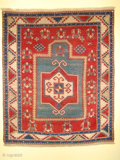 "Fachralo Prayer rug in great shape. SIZE: 45"" X 53"" OR 115 X 135 cm"