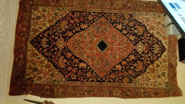 4x6 plus antique rug