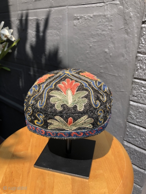 Central Asian hat. 20th century. Uzbek?