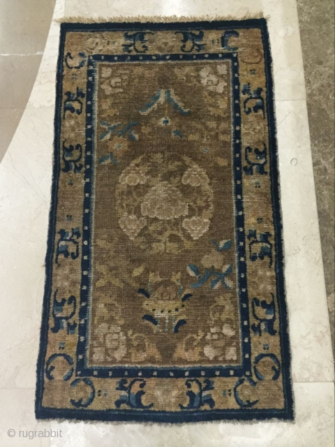 China ningxia rugs, circa 1800 s, size 97 cmx56cm, welcome to ask price