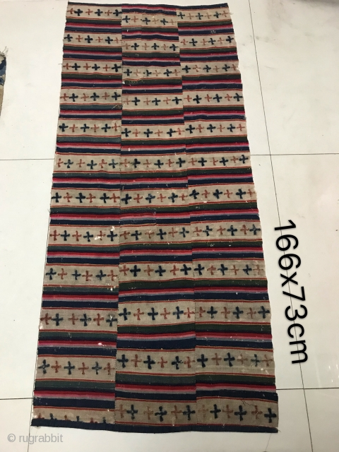 The size  of this Tibet Tibet wool carpet is  166*73 cm the price is just $300 including shipping fee.