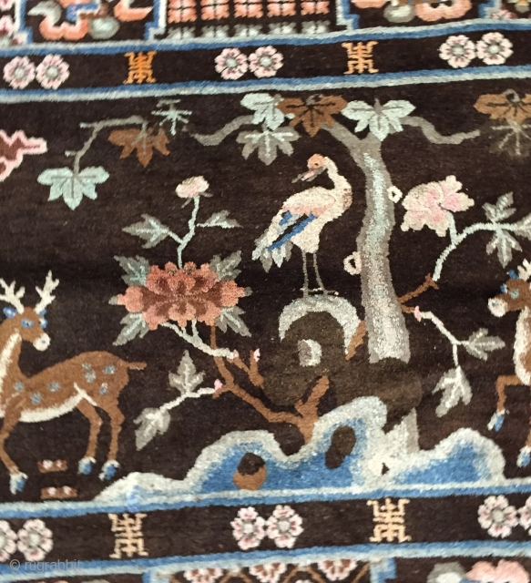 China carpet full condition Old pieces  Size 100/160 cm
