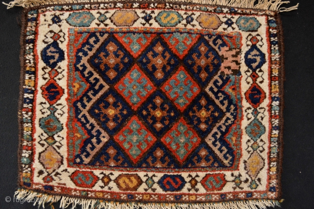 Full Pile end 19th century or circa 1900's Kurdish Bagface 