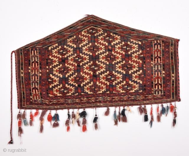 "Turkmen Yamud Asmalyk  late 19th century size:120 x 68 cm         3""11""x2'3"""