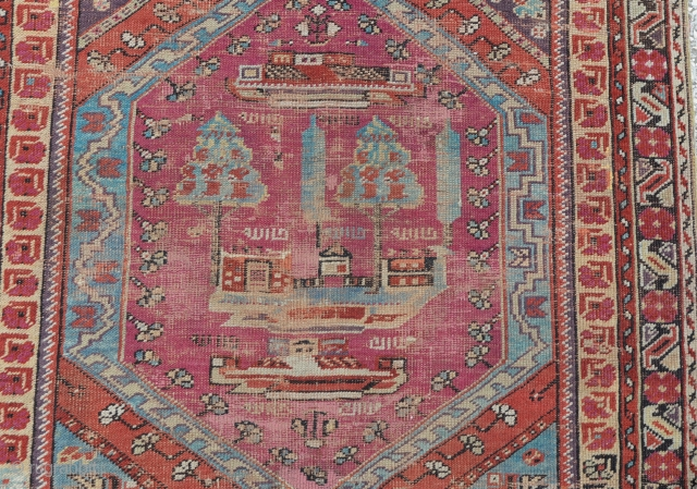 Central Anatolian Kirsehir area (Mucur) rug Late 19th century