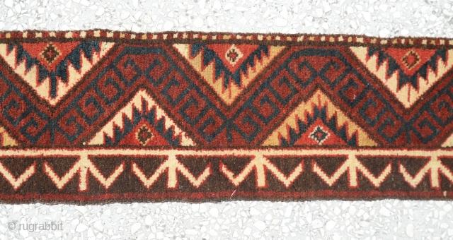 """Central Asian Kirgiz band size:318x25cm 10'5x0'10"""""""