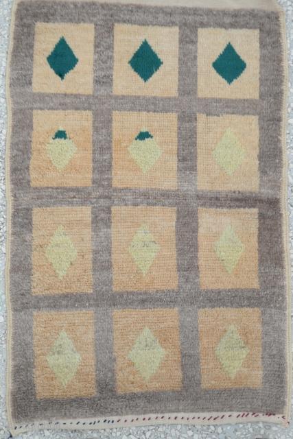 Central Anatolian Old Tulu Rug Size:75 x 118 Cm                          ...