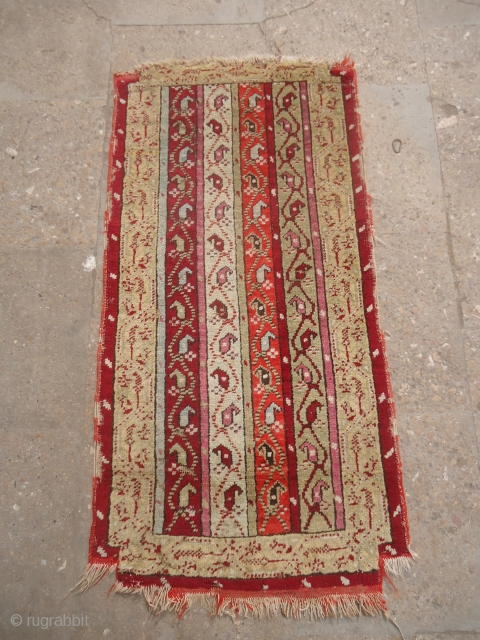 "yastik with stripe design and good colors,Size 3*1'2"".E.mail for more info and pics."
